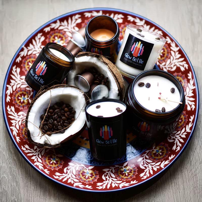 coconut latte candle